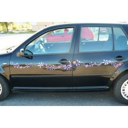 K084 Kvety na auto