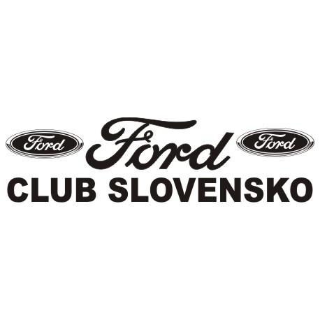 Ford logo fan