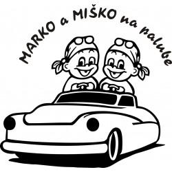 D046 Chlapci v aute